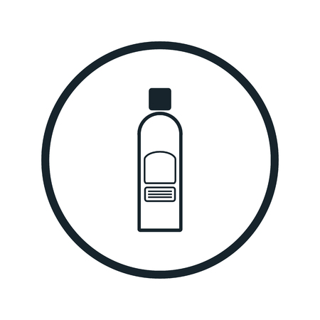 paint container: hair spray icon Illustration