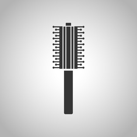 male grooming: combs for hair icon Illustration