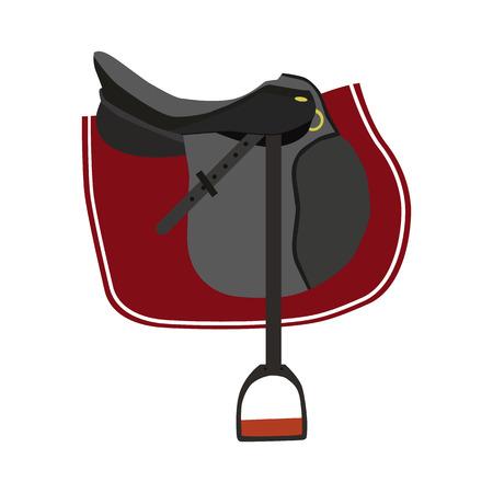saddle flat icon