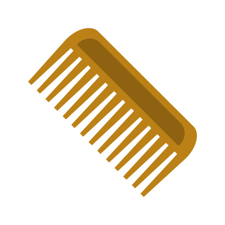 comb for horse flat icon Illustration