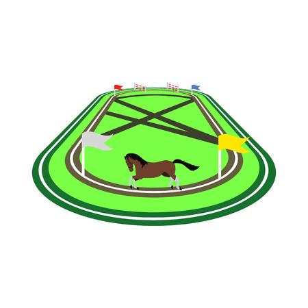 racecourse flat icon