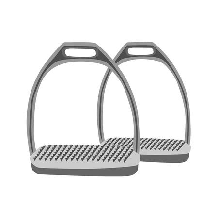 stirrup: stirrups flat icon