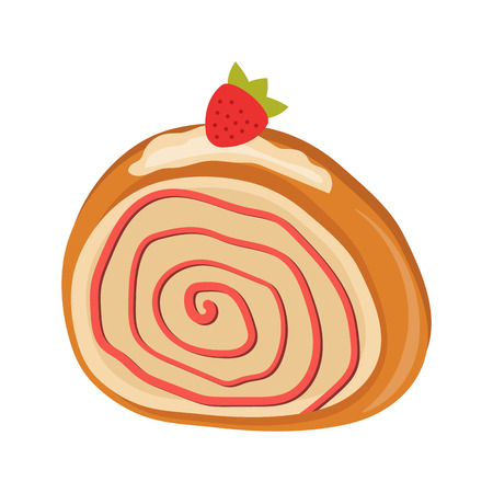 carbohydrate: cake flat icon