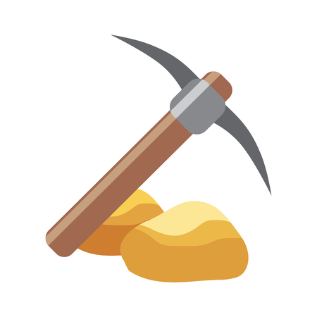 pick flat icon Illustration