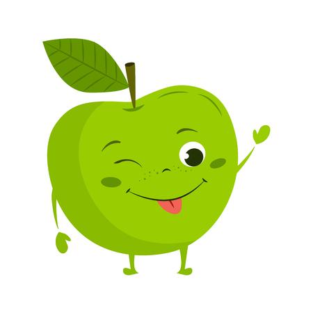 alimentos animada icono plana Ilustración de vector