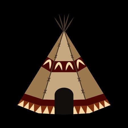 yurt flat icon
