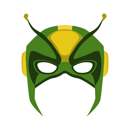mask of superhero flat icon