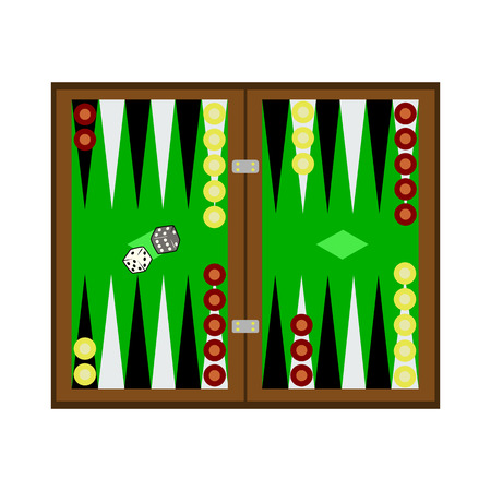 backgammon: backgammon flat icon
