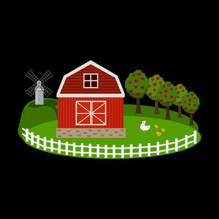 farm flat icon