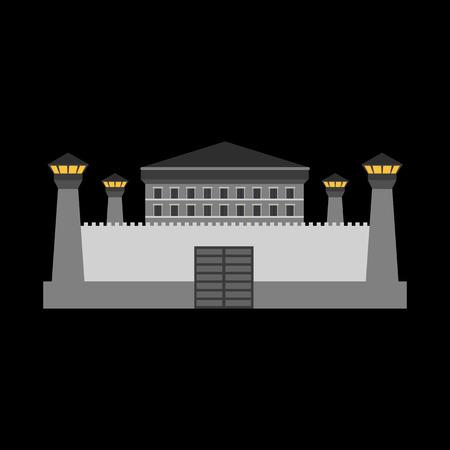 prison flat icon