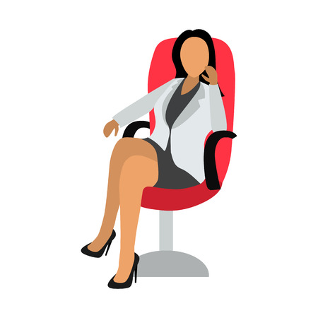 office people flat icon