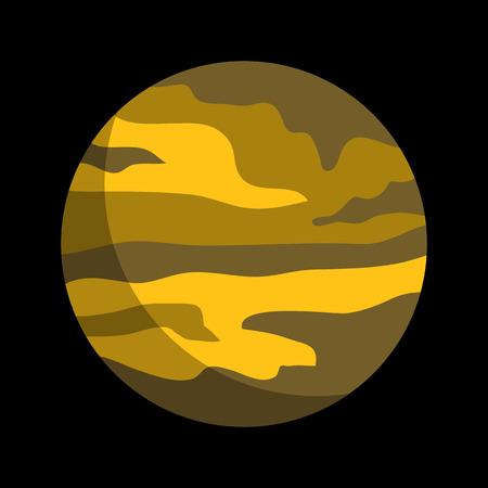 planet flat icon