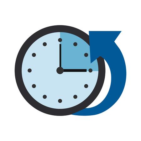 puntualidad: Icono de control de tiempo