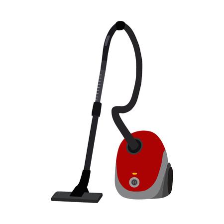 servicio domestico: Aspiradora plana icono