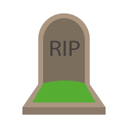 mourn: Grave flat icon