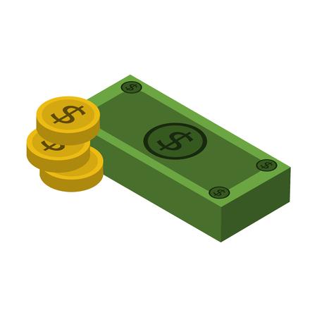 heap: money isometric icon