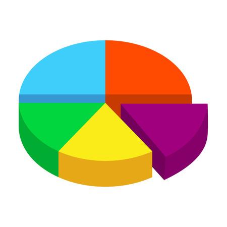 graph isometric icon