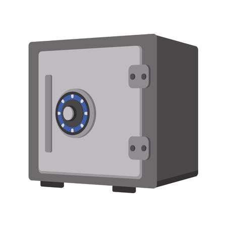 safe isometric icon Çizim