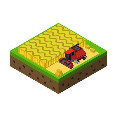 farm isometric icon