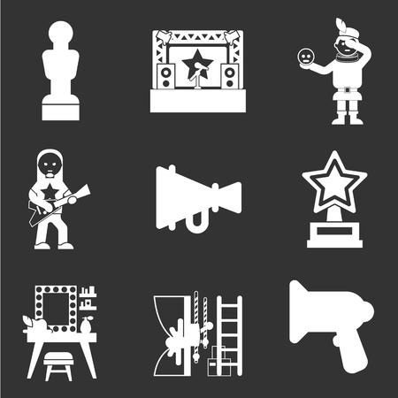 zakelijke pictogramserie tonen