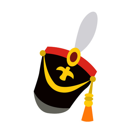 soldier 19th century flat icon