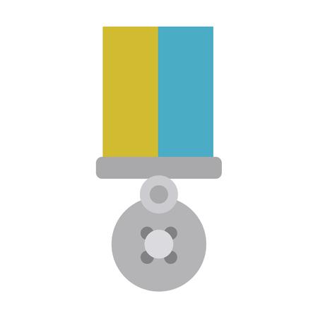 merit: soldier 19th century flat icon