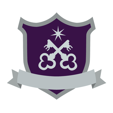 coat of arms flat icon