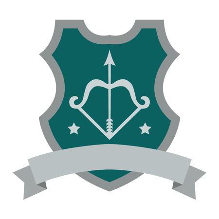 wapenschild plat pictogram