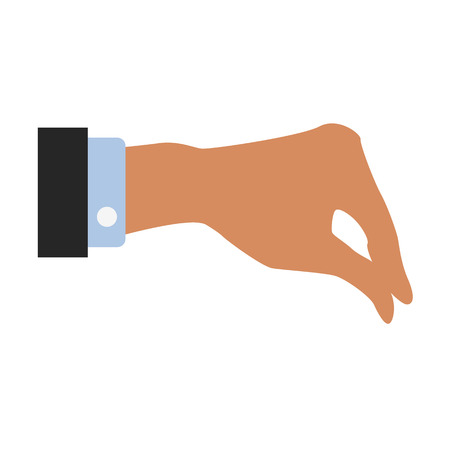 hand gesture flat icon