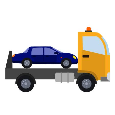 Icono de plano de servicio de automóvil Foto de archivo - 87121426