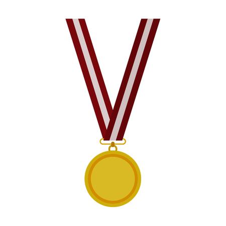 Auszeichnung und Tasse flache icon Illustration