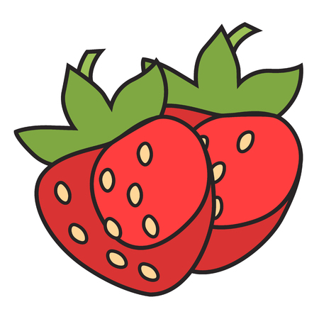 Berry flat icon