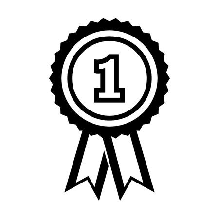 Award line simple icon