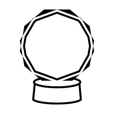 Award,  trophy line simple icon. Illustration