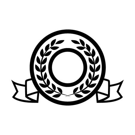 Award line simple icon. Illustration