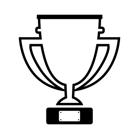 Cup line simple icon