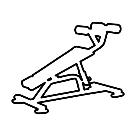 Sport equipment line icon