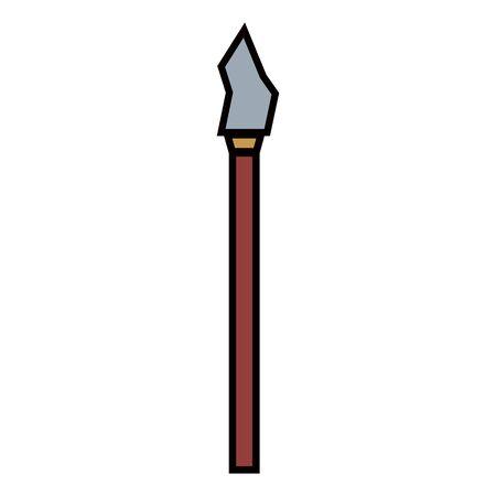 primitive weapon icon 일러스트