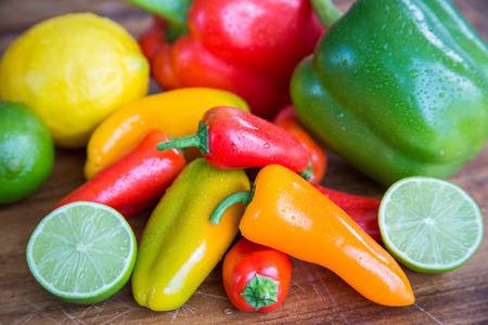 southwestern: Fresh fruit and vegetables produce