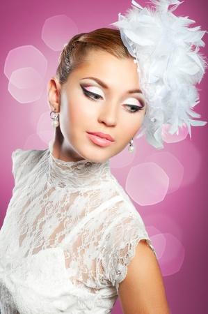 Beauty bride portrait Stock Photo - 12017423