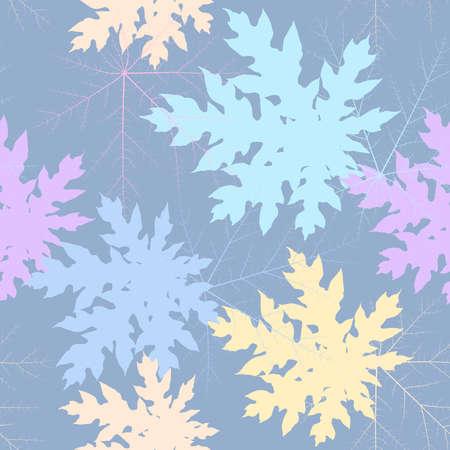 saemless: saemless leaf pastel