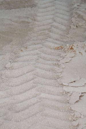 giant tire tread imprint