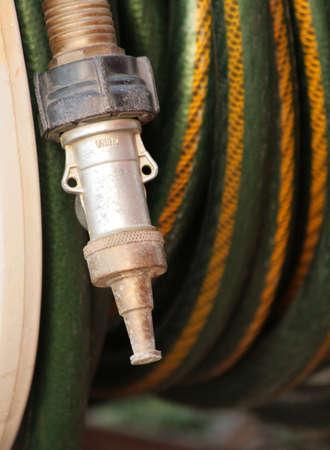 nozzle on garden hose