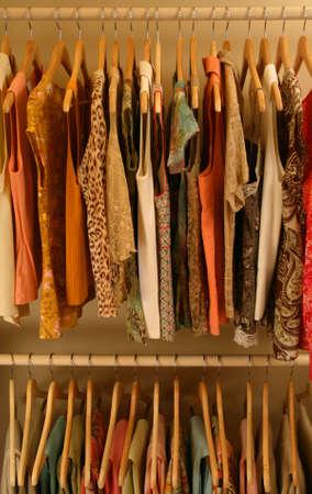 organize: womens spring closet