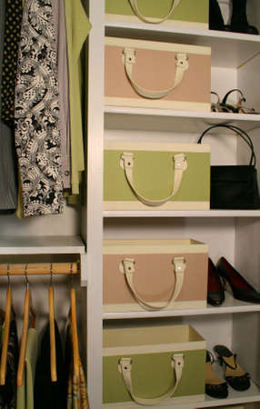 sophisticated womens closet Stock Photo - 3030510