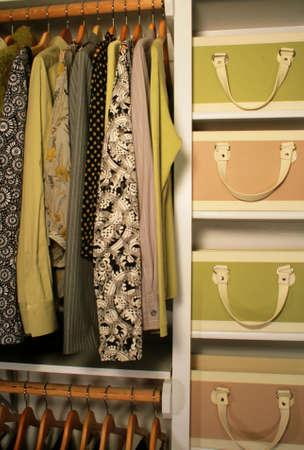 pretty womens closet photo