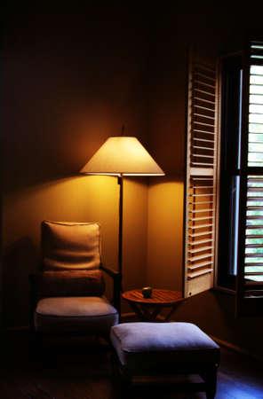 quiet reading chair photo