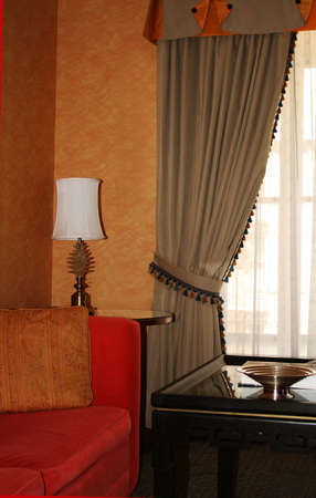 luxury sitting room Stock Photo