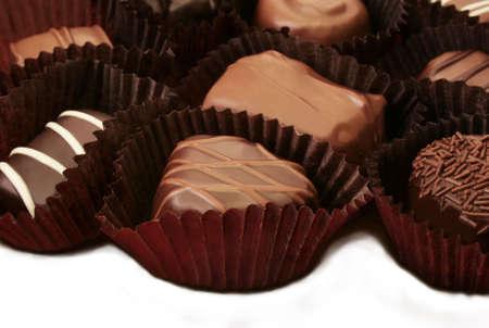 chocolate candy close up Reklamní fotografie