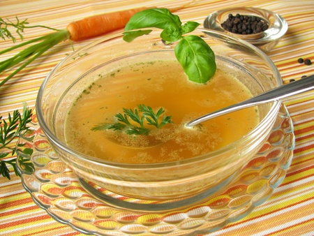 Fasting soup Stock Photo